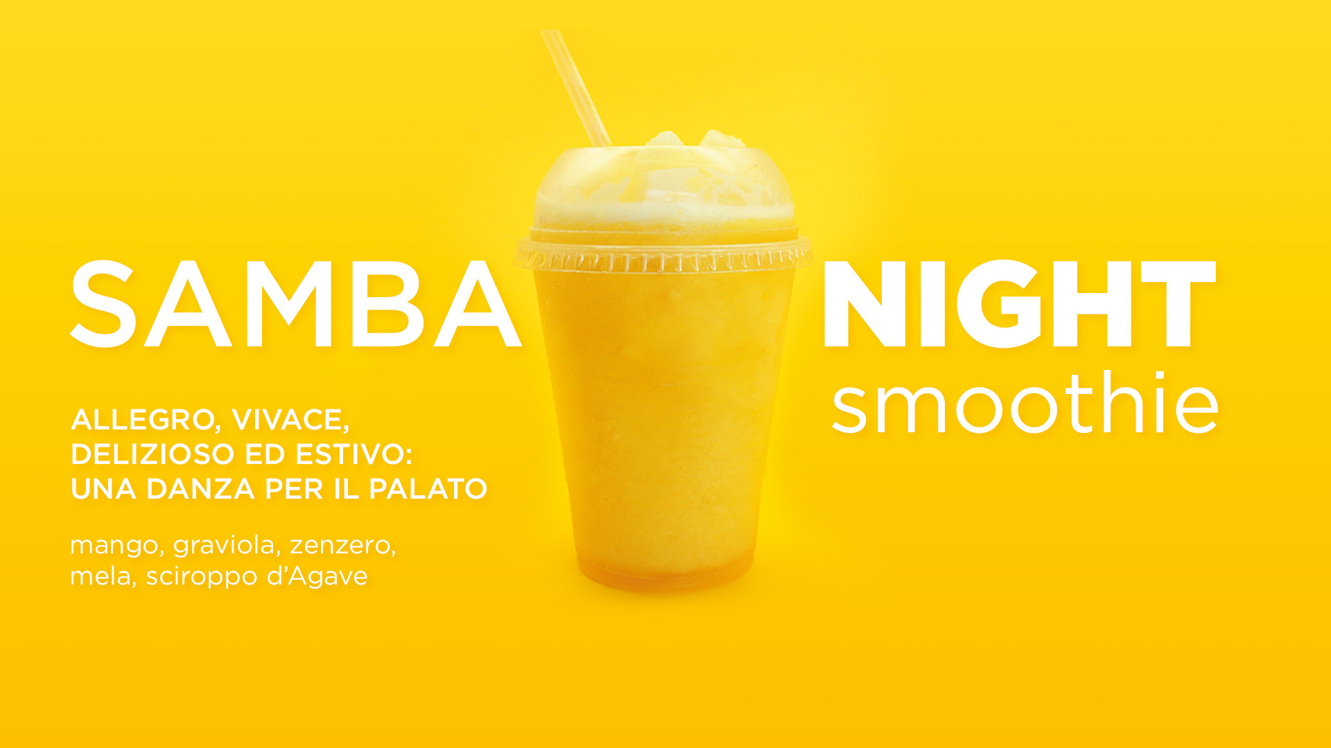 Smoothie Samba Night